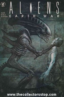 Aliens Earth War No. 2